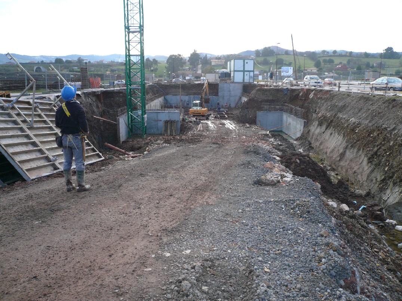 Vista excavacion Los Alisos II