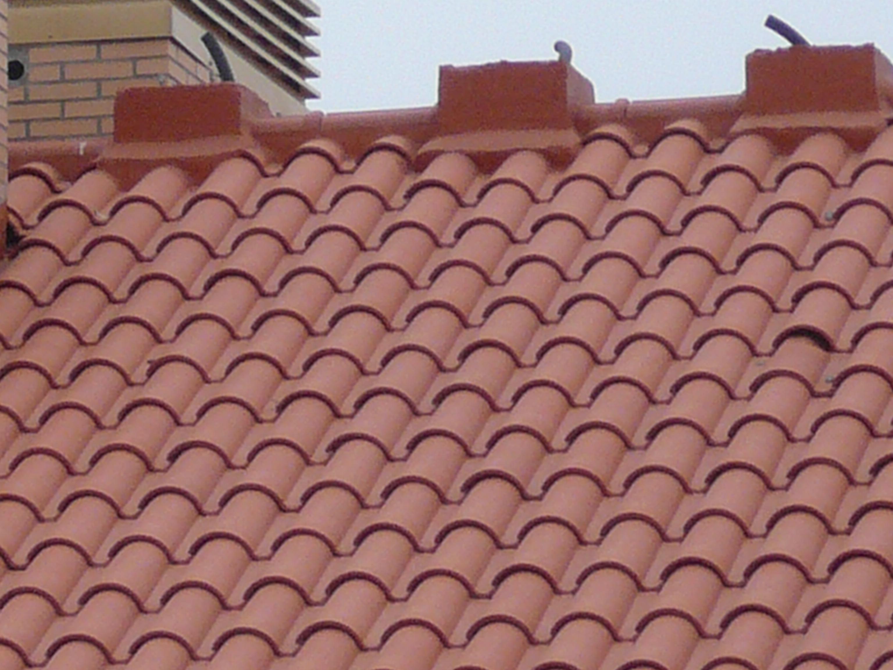 Vista cubierta de teja borja Los Alisos